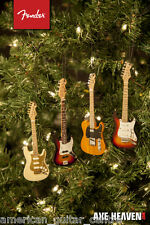 Fender Sunburst Jazz Bass Christmas Decoration