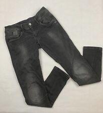 G-Star Raw Fender Skinny Womens 60870 3414 Black Denim Jeans RARE W28 L30