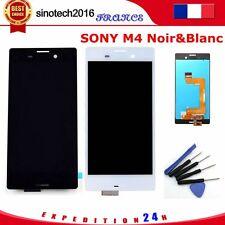 Pour Sony Xperia M4 Aqua E2303 Ecran vitre tactile lcd réparé Noir&Blanc