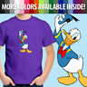 Walt Disney Donald Duck Classic Cartoon Disneyland Unisex Kids Tee Youth T-Shirt