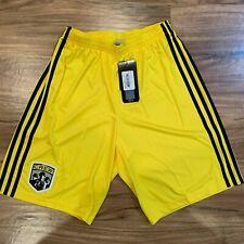 Adidas MLS Columbus Crew Call Up Shorts ClimaLite Youth XL