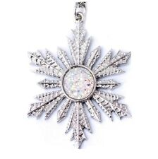 Pendant necklace star snow, Once upon a Time, Anna Elsa, Frozen
