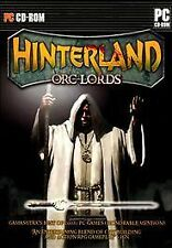 HINTERLAND ORC LORDS PC GAME BRAND NEW SEALED HINTERLAND ORC LORDS