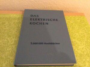 Das Elektrische Kochen, 31 Auflage