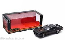 GREENLIGHT 1:18 1978 CHEVY CAMARO Z/28 BLACK W/ORANGE STRIPES T-TOPS 12902