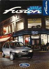 Ford Fiesta Fusion 1.25 Limited Edition 1997 UK Market Sales Brochure 3-dr 5-dr