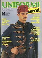 UNIFORMI E ARMI - Nr 16 Agosto 1990
