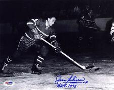 Jean Beliveau SIGNED 8x10 Photo +HOF 1972 Montreal Canadiens PSA/DNA AUTOGRAPHED