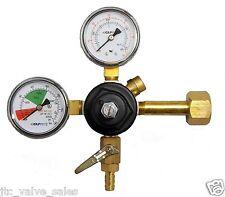 TAPRITE E-3741BR CO2 Beer Primary Regulator Dual Pressure Gauge 60# 2000# PSIG