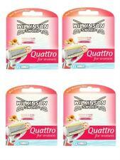 Genuine Wilkinson Sword Quattro Razor Shaving Blades Refills for Women - 24 Pack