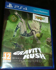 Gravity Rush Remastered Playstation 4 PS4 NEW SEALED