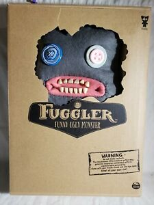 Fuggler 12 Inch Funny Ugly Monster Plush | Grey Claw-Ey