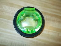 Vintage 1920's Goodyear Tire Rubber Ashtray &  Green Embossed Insert