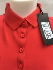 GF Ferre women's  Italian polo shirt  RED XS