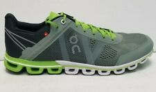 On Cloud On Cloudflow Rubber Moss/Lime Running Shoes Size 10.5 Men's