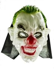 Scary Clown Witch Ghost Mask Latex Horror Halloween Props Fancy Dress Costume Uk