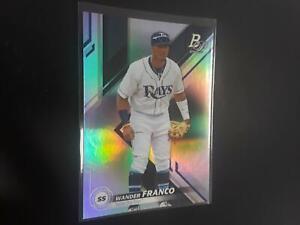 Wander Franco 2019 Bowman Platinum Top Prospect #9 Tampa Bay Rays H27