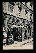 France Picardy AMIENS La Maison du Sagittaire front of hat shop c1900/10s LL PPC