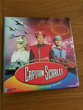 Captain Scarlet Trading Cards by Cards Inc Binder Base and Chase Set 2001
