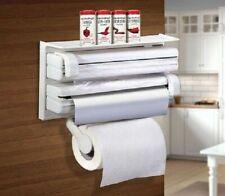 Porta rotolo parete carta pellicola alluminio mensola dispenser cucina rotoli
