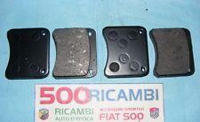 FIAT 500 F/L/R 126 COPPIA PASTIGLIE PER KIT FRENI A DISCO ANTERIORI ABARTH 4X190