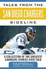 SAN DIEGO CHARGERS  Tales from the CHARGERS sideline  NFL BOOK - posted from UK
