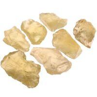 Crudo Piedras Ásperas de Cristal de Cuarzo Citrino Natural Piedras Nuevo C4X1