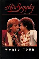 AIR SUPPLY 1983 GREATEST HITS WORLD TOUR CONCERT PROGRAM BOOK BOOKLET / NMT