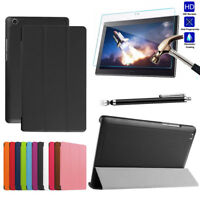 Leather Smart Tablet Stand Flip Cover Case For Lenovo TAB 4 10 plus TB-X704F/N