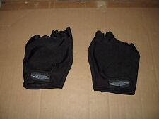 Damascus Hand Armor Black Bicycle Gloves in Men Size Large