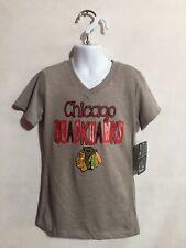 NHL Chicago Blackhawks Girls Shirt Size M