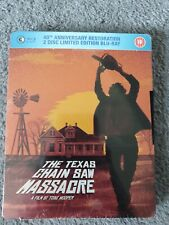 the texas chainsaw massacre blu ray steelbook