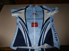 Hincapie Womens Club Shirt Jersey Colorado Cycling Rockies L Large