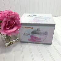 Glass Teapot Heat Resistant Tea Kettle with Removable Infuser 1.2L/41 oz Tea Pot