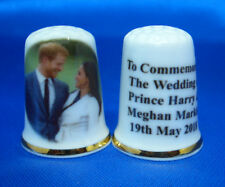 China Thimble - Prince Harry and Meghan Royal Wedding May 2018  in Free Box