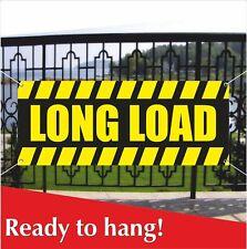 Long Load Banner Vinyl Mesh Banner Sign Truck Trailer Van Vehicle Road Traffic