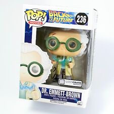 BACK TO THE FUTURE: LOOT CRATE EXCLUSIVE 236 DOC BROWN FUNKO POP VINYL FIGURE