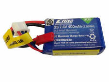 Eflite 400mAh 2s 7.4v 30C LiPo with JST Connector