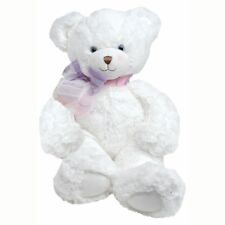 First & Main Plush Bear (FM1787) - White, 15in.