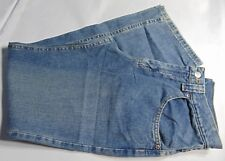 Lee Medium Wash Relaxed Straight Leg Sure To Fit Adjustable Girls/Teen Size 16R
