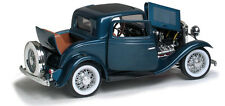 1932 Ford 3 Window Coupe - blue 1:18 Scale Diecast Model Car by Lucky