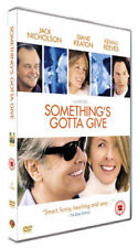 EPIC ROMANTIC COMEDY= SOMETHING'S GOTTA GIVE - DIANE KEATON = VGC CERT 12
