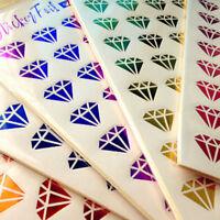 New Kawaii 6pcs DIY Gilding Photo Paper Sticker Scrapbook Diary Planner Decor LJ