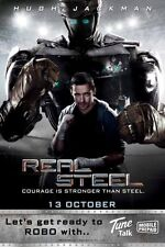 Real Steel Movie Poster 11x17 Mini Poster (28cm x43cm) #03