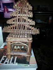 Wooden Decorative Chair made of Sticks, creatively in the Philippines