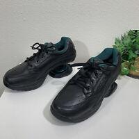 Z-Coil Legend Black Slip Resistant Shoes Mens Size 8 Leather Comfort Sneaker