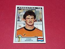 114 BRANDTS NEDERLAND ARGENTINA 78 FOOTBALL PANINI WORLD CUP STORY 1990 SONRIC'S