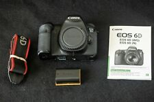 Canon EOS 6D 20.2MP Digital SLR Camera W/ Battery, strap and NO charger