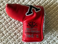 Rare NEW 2008 Titleist Scotty Cameron Red X Putter  Cover - Red