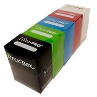 Ultra Pro M2 Deck Box Magic Pokemon Yugioh Cards Dice Leatherette Black M2.1